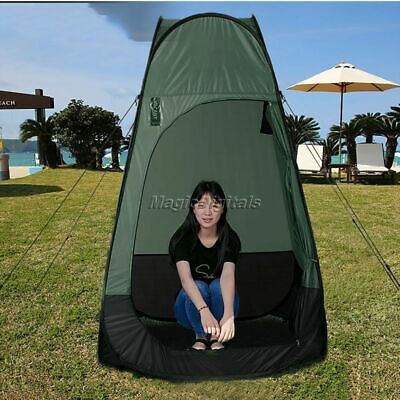 Camping Tent Portable Pop Up Outdoor Bathroom Shower Changing Room Shelter