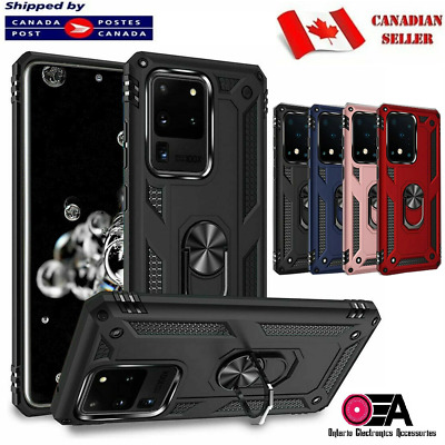 For Samsung Galaxy S10 S20 Plus Ultra S10e Case Heavy Duty Magnetic Tough Cover