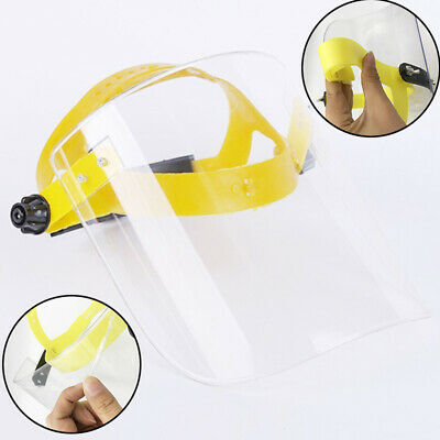 SAFETY FACE SHIELD With CLEAR FLIP-UP VISOR Shop Garden Industry Dental Cover