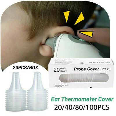 For Braun Probe Covers Thermoscan Replacement Lens Ear Thermometer Filter Caps