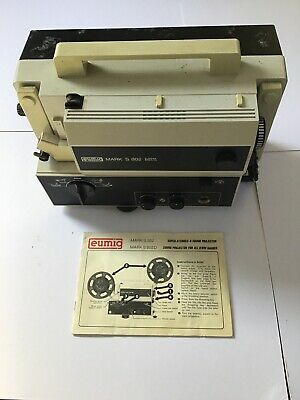 Eumig Projector Mark S 802 Super 8 Single 8 8mm Cine