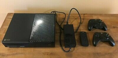 Used - Microsoft Xbox One - 1TB - Includes 2 controllers, power cable & remote.