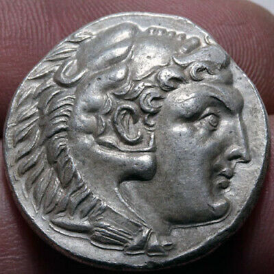 Ancient Greek Coin Fourree Silver Tetradrachm Alexander The Great 336-322 Bc