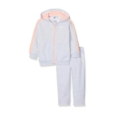 Adidas Infant Baby Girls Tracksuit Outfit Set