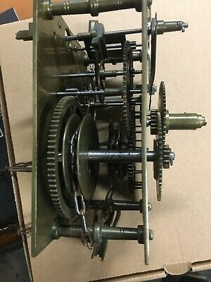Antique Longcase Grandfather Clock Movement