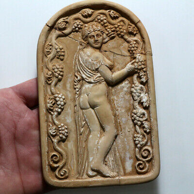 Scarce-Ancient Greek Stone Panel Ornament Decoration Circa 700-300 Bc