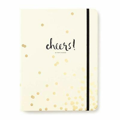 Kate Spade New York Gold Confetti Dot Party Planning / Planner NIP