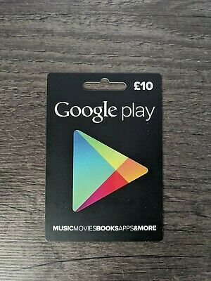New £10 Google Play Store Gift Card