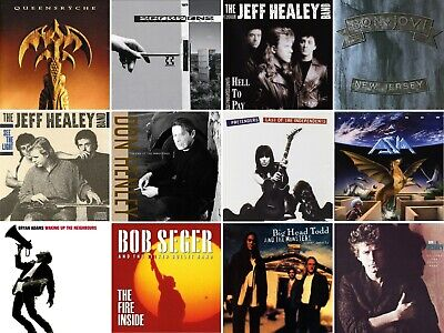 CLASSIC ROCK CDs - PICK YOUR FAVORITES - $5 OR LESS EACH - SEE LIST