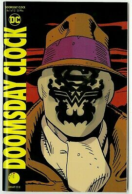 DC Superman vs Watchmen Doomsday Clock #1 SOLD OUT LENTICULAR COVER HBO SHOW