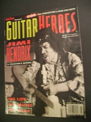 Guitar Player Magazine Heroes Jimi Hendrix Collector's Edition Life Music Gear