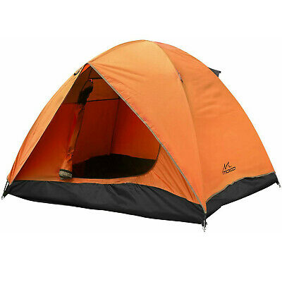 MoKo 2-3 Person Camping Tent, Rainproof Double Layer Family Backpacking Tents