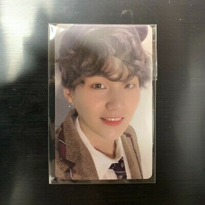 BTS Bangtan Boys Map Of The Soul 7  Official SUGA Photo Card Ver.4