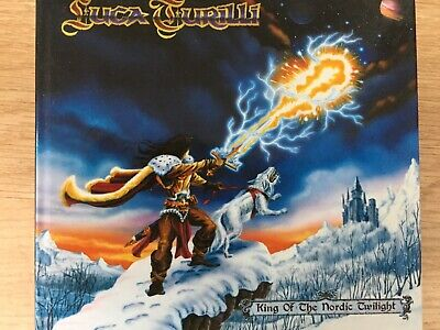 LUCA TURILLI - King Of The Nordic Twilight CD Digibook Insideout Excellent Cond!