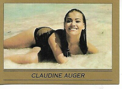 James Bond 007 Eclispe Card #107 Claudine Auger