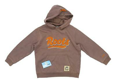 Roots Girls Brown Hoodie Size L-G
