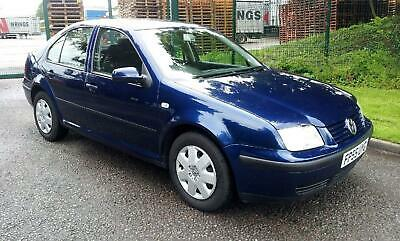 VW Bora 1.4 4Dr Saloon Blue FSH 72294 Miles PART EX TO CLEAR