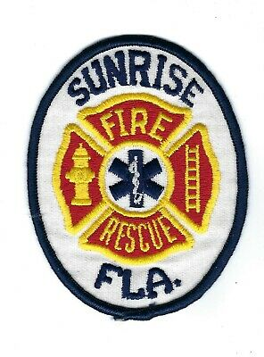 Sunrise Fire Rescue Department Station 92 Special Operations Patch Florida FL