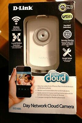 D-Link DCS-930L Wireless WIFI N Network Camera with Remote Viewing