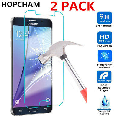100%Real Tempered Glass Screen Protector Samsung Galaxy A9 J3 J5 J7 A3 A5 A7 A8