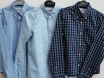 Fantastic Bundle 3 ABERCROMBIE & FITCH Boys Long Sleeve Shirts MEDIUM Age 12