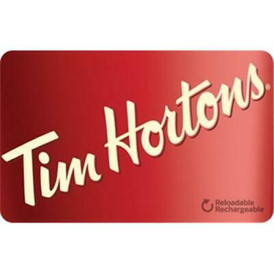 Tim Hortons Canada Gift Card $5.00