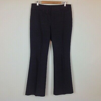 Chicos 2 Dress Pants Womens Large So Slimming Black