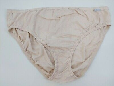 Vintage Jockey Pink Cotton Stretchy Bikini Briefs Panty Panties 10 3X 3XL XXXL