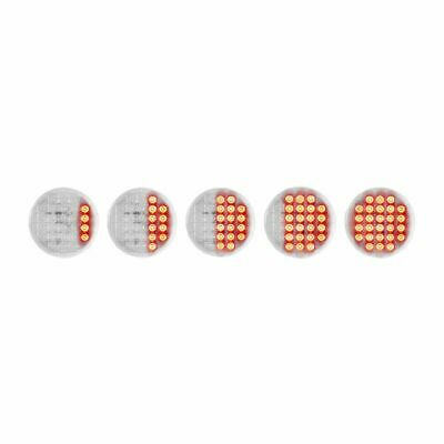 "GG LED Smart Dynamic Sequence Stop Tail Turn 26 Red LED Red Lens 4"" #74892 Each"
