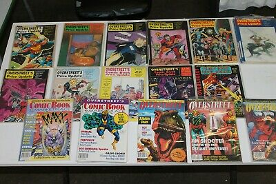 Vintage Overstreet Comic Price Update Guides/Comic Book Monthly (18)
