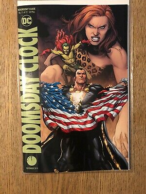 Doomsday Clock 11 Variant. Bagged And Boarded