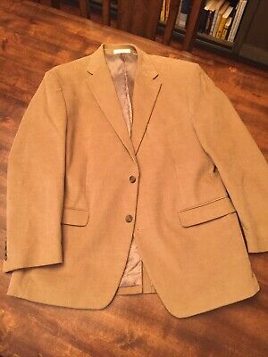 Chaps Ralph Lauren Men's 42R Brown Corduroy Blazer Sport Coat Suit Jacket ~ NEW!