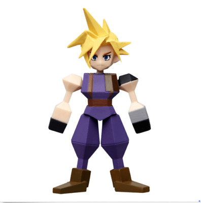 【Near Mint】Final Fantasy VII Remake  Mini Figure lottery Kuji G FF7 CLOUD JP F/S
