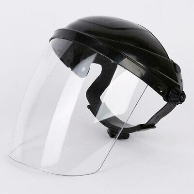 Full Face Shield Cover Clear Up And Down Anti Droplets Work Safety Protection