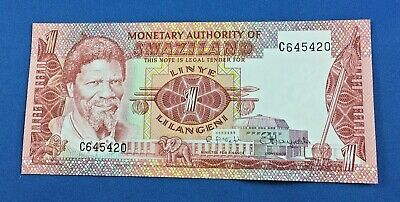 Swaziland 1974 One (1) Lilangeni Uncirculated