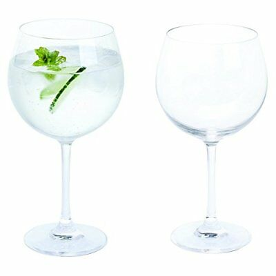 Copa Gin And Tonic Cocktail Glass G & T Balloon Glasses Gifts Set Pack 2x 650ml