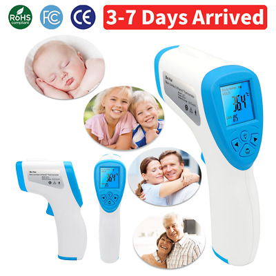 Non-contact Infrared forehead thermometer gun for Baby Kids Adults Temperature