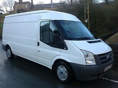 Ford Transit 110 Fwd Lwb Panel Van In Frozen White Kitted Out For M/C Delivery