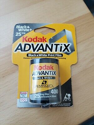 New Kodak Black & White Advantix APS B&W Film Roll ISO 400 - 25  Exp 6/2001