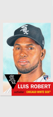 Topps Baseball Living Set Rookie Card Chicago White Sox Luis Robert #297