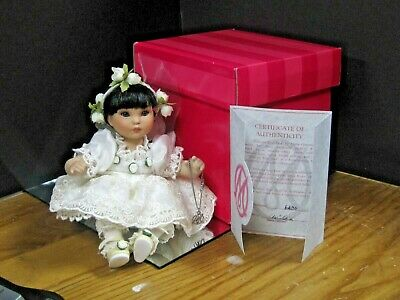 MARIE OSMOND FINE COLLECTIBLES PORCELAIN DOLL Princess Rose Bud
