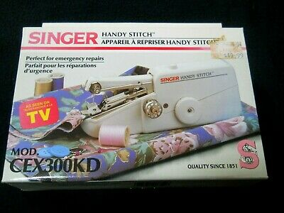 Vintage SINGER Handy Stitch # CEX100KD / Battery Operated / Sewing