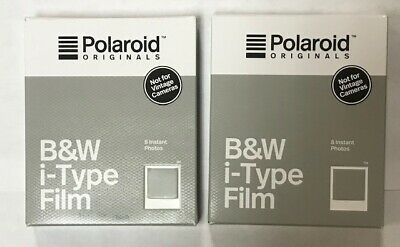 Polaroid B&W i-Type Film - Past Expiration Date - 2 Packages
