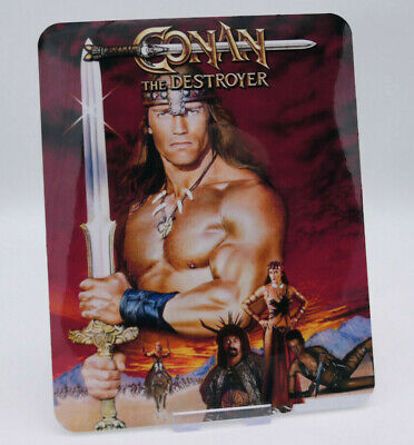 CONAN THE DESTROYER - Glossy Bluray Steelbook Magnet Cover (NOT LENTICULAR)