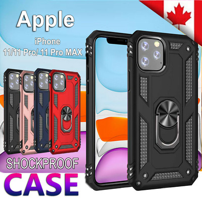 For Apple iPhone 11 pro XR X XS Max Case Heavy Duty Shockproof Magnetic Cover
