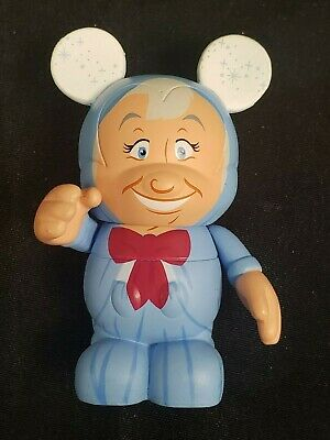 DISNEY 3 VINYLMATION ANIMATION FAIRY GODMOTHER WITH CARD AND WAND