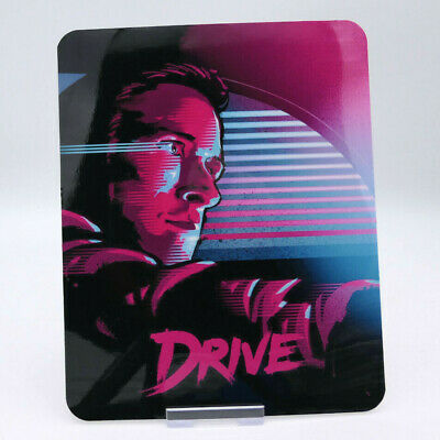 DRIVE - Glossy Fridge or Bluray Steelbook Magnet Cover (NOT LENTICULAR)
