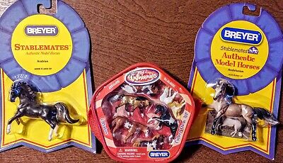 Breyer Minnie Whinnie Set & TWO Stablemate Model Horses