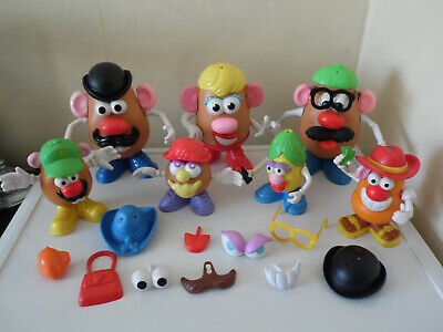 MR POTATO HEAD Large Bundle Animals Vegetables  Mrs Potato Little Tater Family