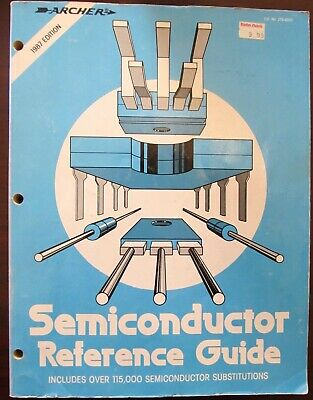 Vintage Archer Radio Shack Semiconductor Reference Guide 1990